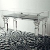 multifunctional acrylic console table,Jewelry display ark for exhibition hall,office,maket