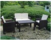 outdoor furniture -rattan sofa EXY-6m091