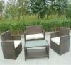 outdoor garden rattan furniture set