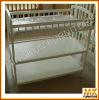 pine small baby crib
