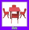 pink childrens table and chairs