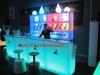 plastic bar furnitur/LED bar table/LED leisure furniture/LED wedding furnitre/LED commrcial table furniture