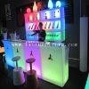 plastic bar furniture/protable LED bar/LED furniture decorative&LED bar furnitre/furnitre designs