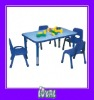 plastic children table and chair