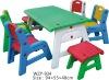plastic folding children table