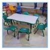 plastic rectangle kids table