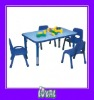 plastic table and chairs for children