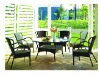 rattan dining chair A-108 dinning table D-429