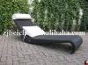 rattan leisure sun bed
