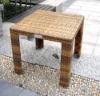 rattan wicker outdoor garden furniture coffee table