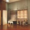 school dormitory student metal bunk bed