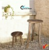 shabby and chic wooden stool