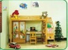 solid pine children bedroom furniture
