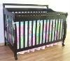 solid pine wood baby crib