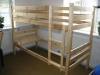 solid wood kids bunk bed