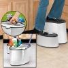 step stool bucket