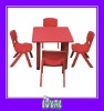 vintage kids table and chairs