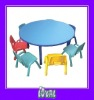 white kids table and chair set