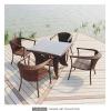 wicker furniture (dining set)