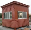 wood plastic synthetic house