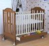 wooden children bed