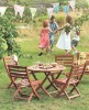wooden children garden furniture ( WA-5S-C105 )