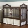 wooden convertible baby cot bed