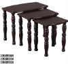wooden stool set